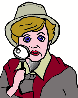 Image result for clip art of jessica fletcher