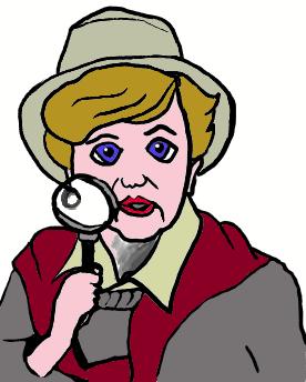 Image result for clip art of jessica fletcher