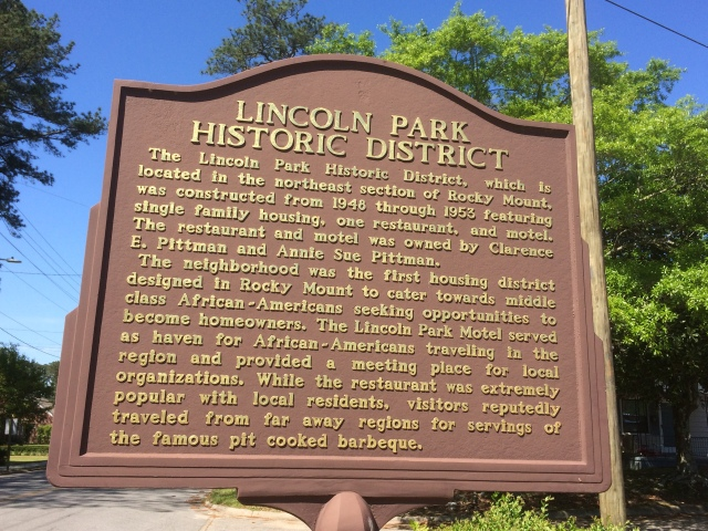 lincoln park sign