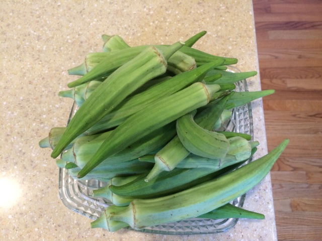 lots of okra