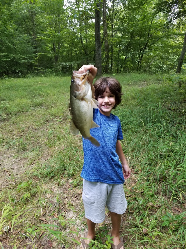 Charlie with his bass
