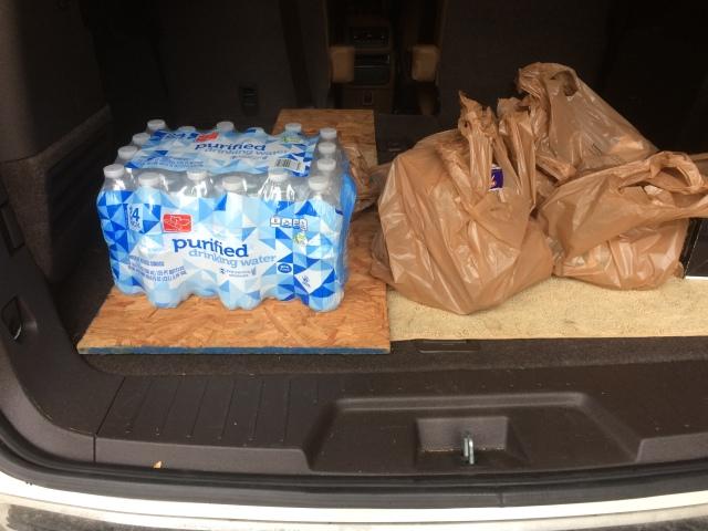 final grocery haul