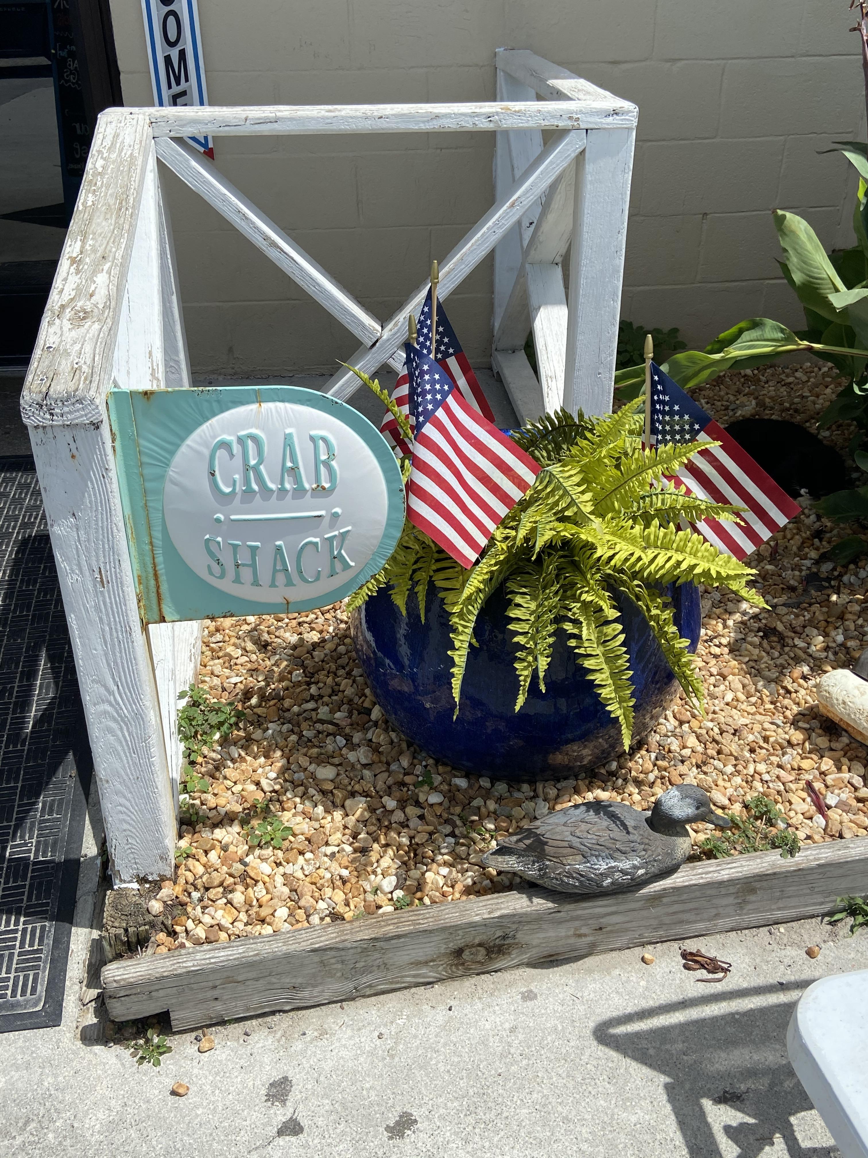 crab shcack flag